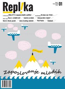 Revija Replika februar naslovnica